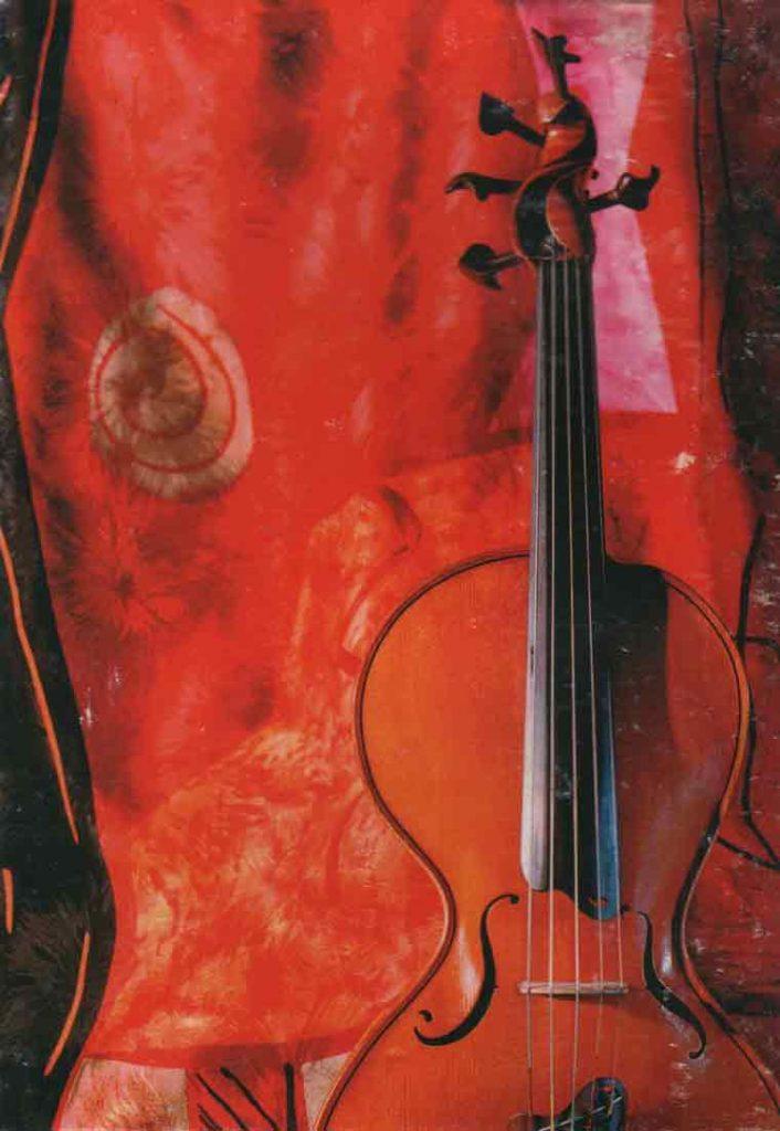 Indexation : Violon##Auteur : Gauthier Louppe##Légende : Violon « Quintessence »##Photo : Marc-Henri Cykiert##Epoque : Moderne##Date : 2006##Propriété : Art-032-mdv