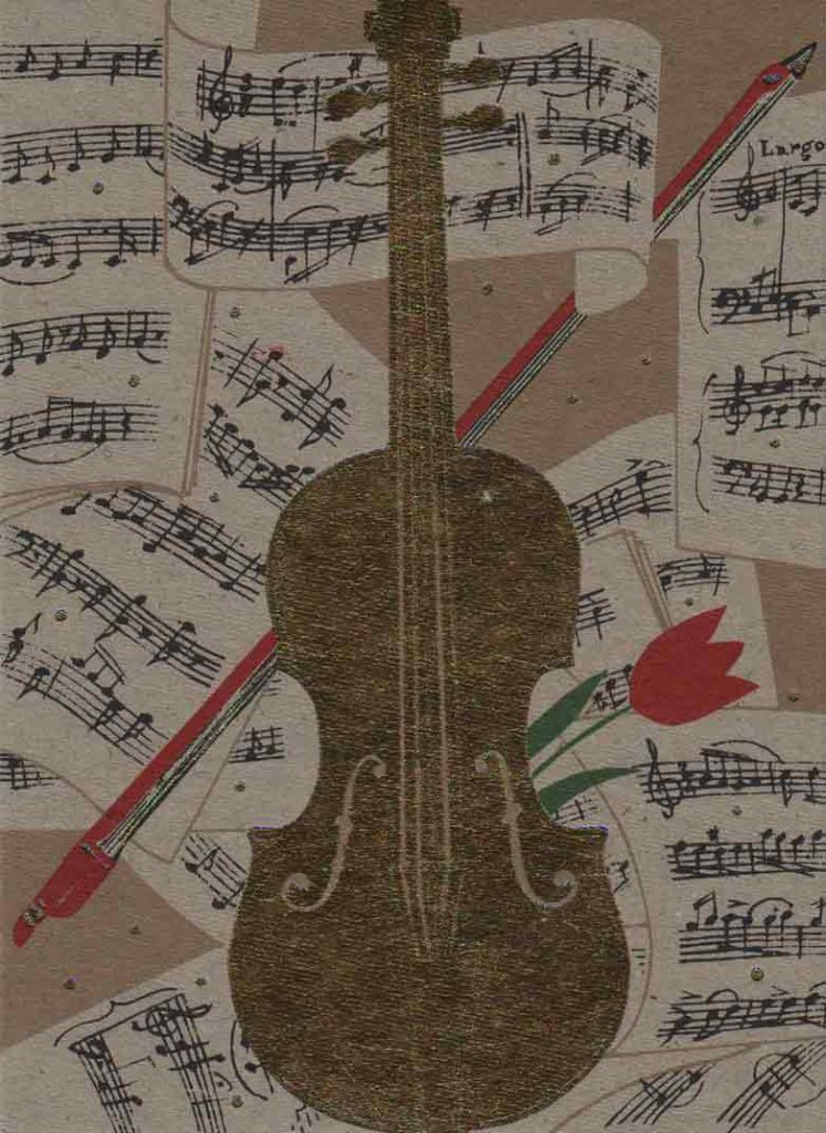 Indexation : Carte violon##Légende : Golden Violin##Editeur : Turnowsky's Art##Epoque : Moderne##Propriété : Fan-011-mdv