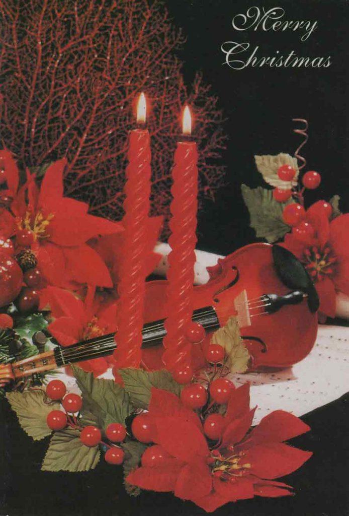 Indexation : Carte de voeux##Légende : Merry Christrmas##Epoque : Moderne##Propriété : Fan-019-mdv