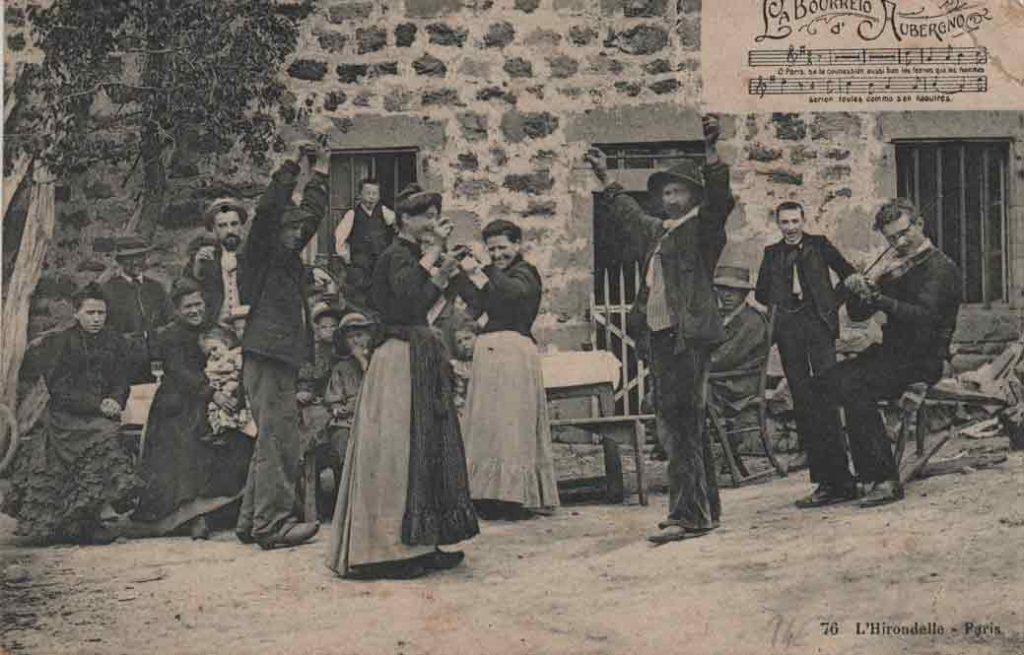 Indexation : Violon et bourrée d'Auvergne##Editeur : 76 – L'Hirondelle, Paris##Epoque : Ancienne##Propriété : Folk-001-mdv