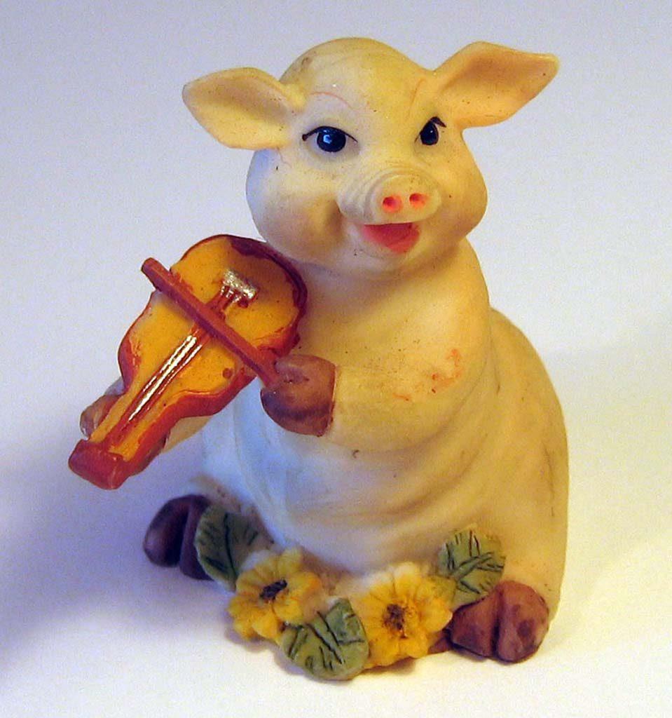 Indexation : Cochon violoniste##Propriété : mdv