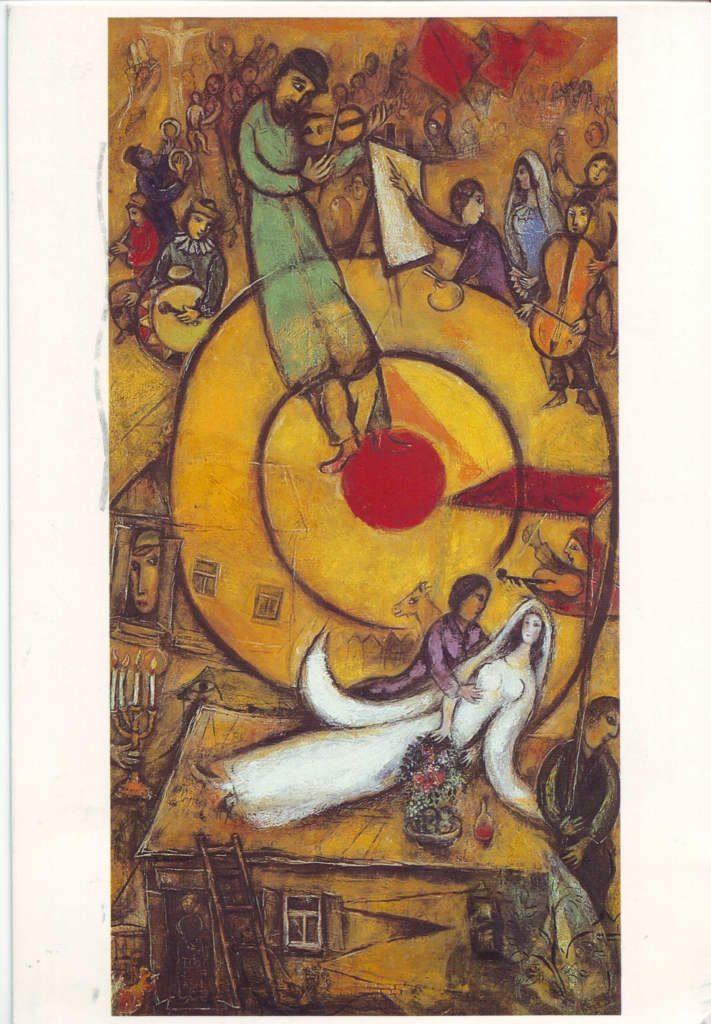 Indexation : Libération (1937-1952)##Huile sur toile, 168 x 88 cm##Auteur : Marc Chagall (1887-1985)##Epoque : Moderne##Propriété : Pei 013 - Roy