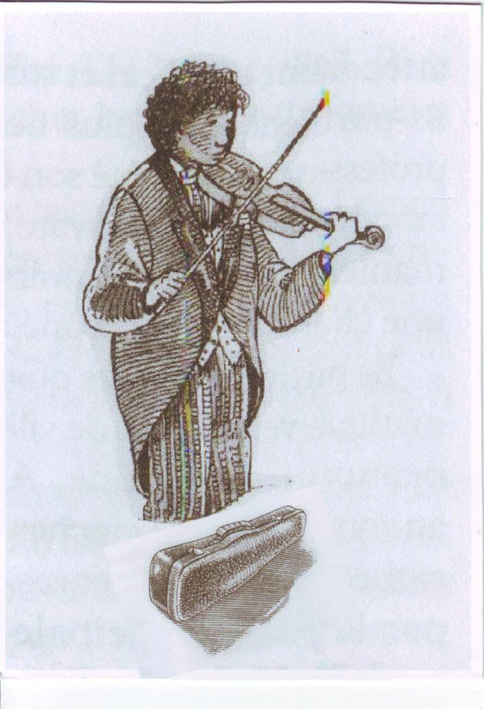 Indexation : Violoniste##Epoque : Moderne##Propriété : Des-038-Roy