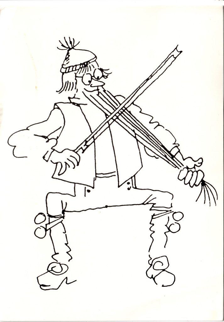 Indexation : Violoniste##Epoque : Moderne##Propriété : Des-057-Roy