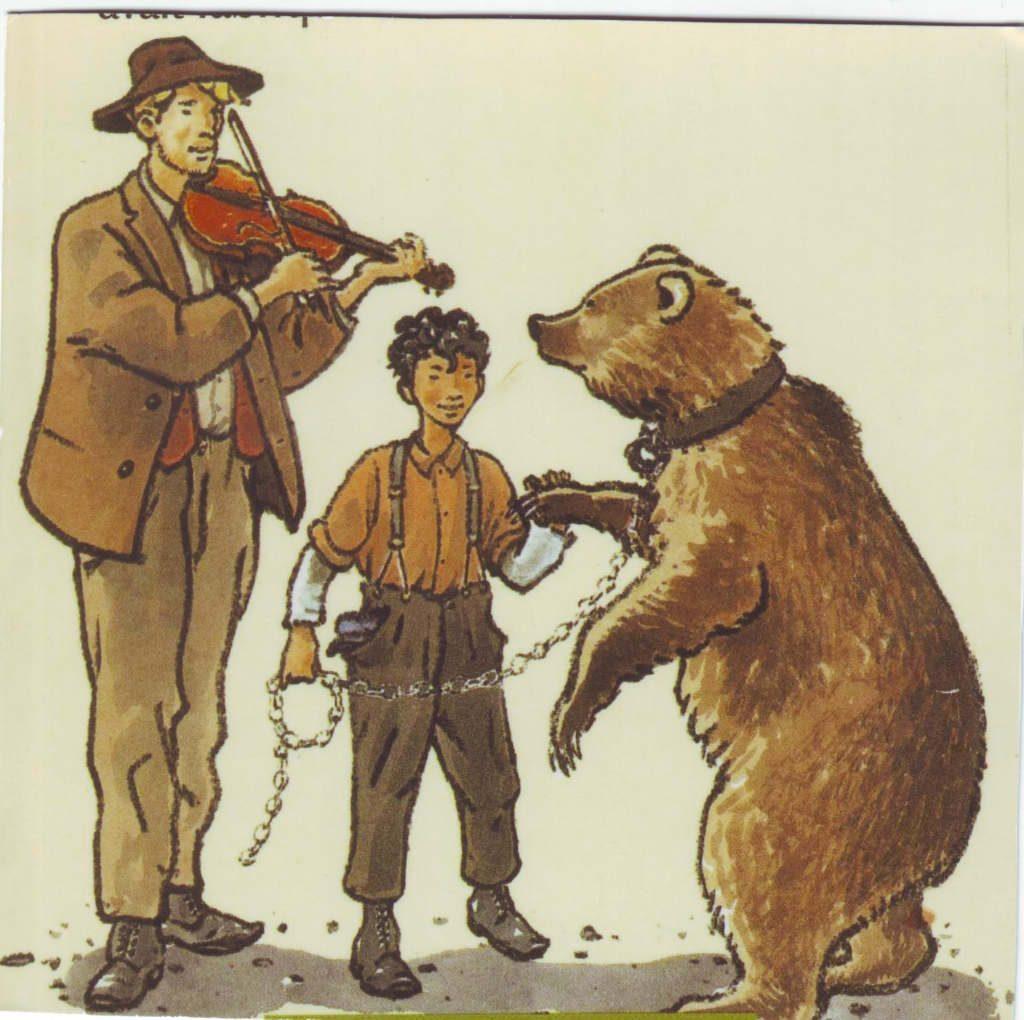Indexation : Violoniste, montreur d'ours##Epoque : Moderne##Propriété : Des-067-Roy