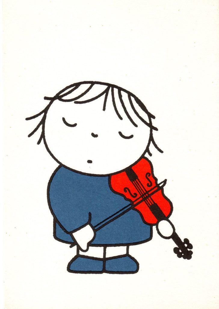 Indexation : Enfant au violon##Epoque : Moderne##Propriété : Des-080-Roy