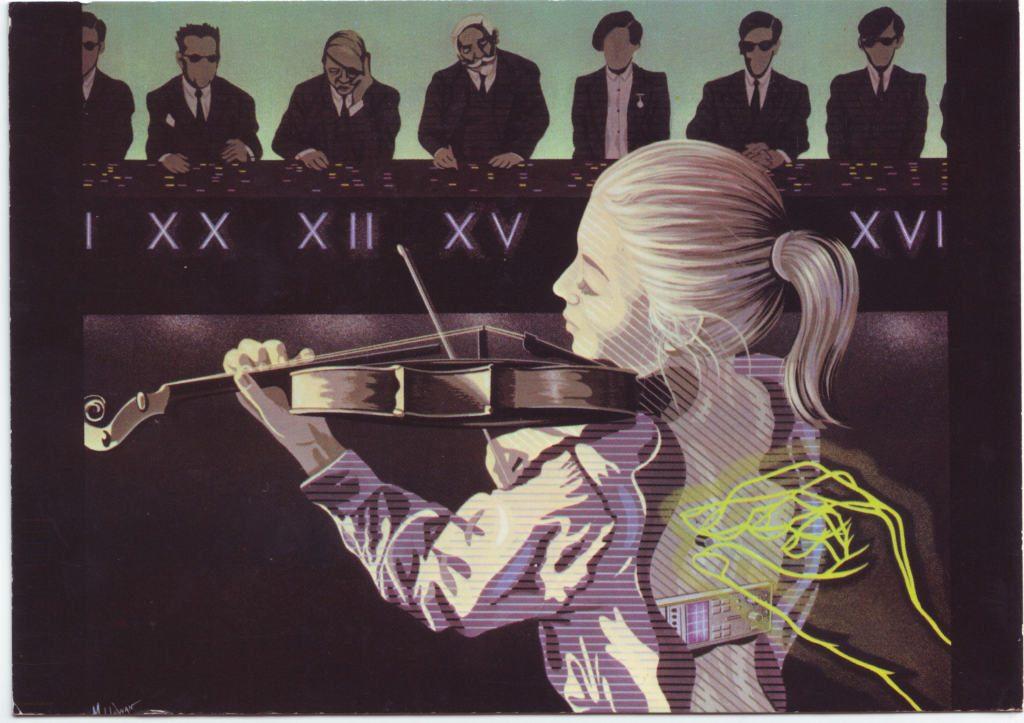 Indexation : Jeune fille au violon##Epoque : Moderne##Propriété : Des-083-Roy
