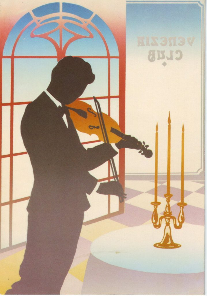 Indexation : Violoniste##Epoque : Moderne##Propriété : Des-084-Roy