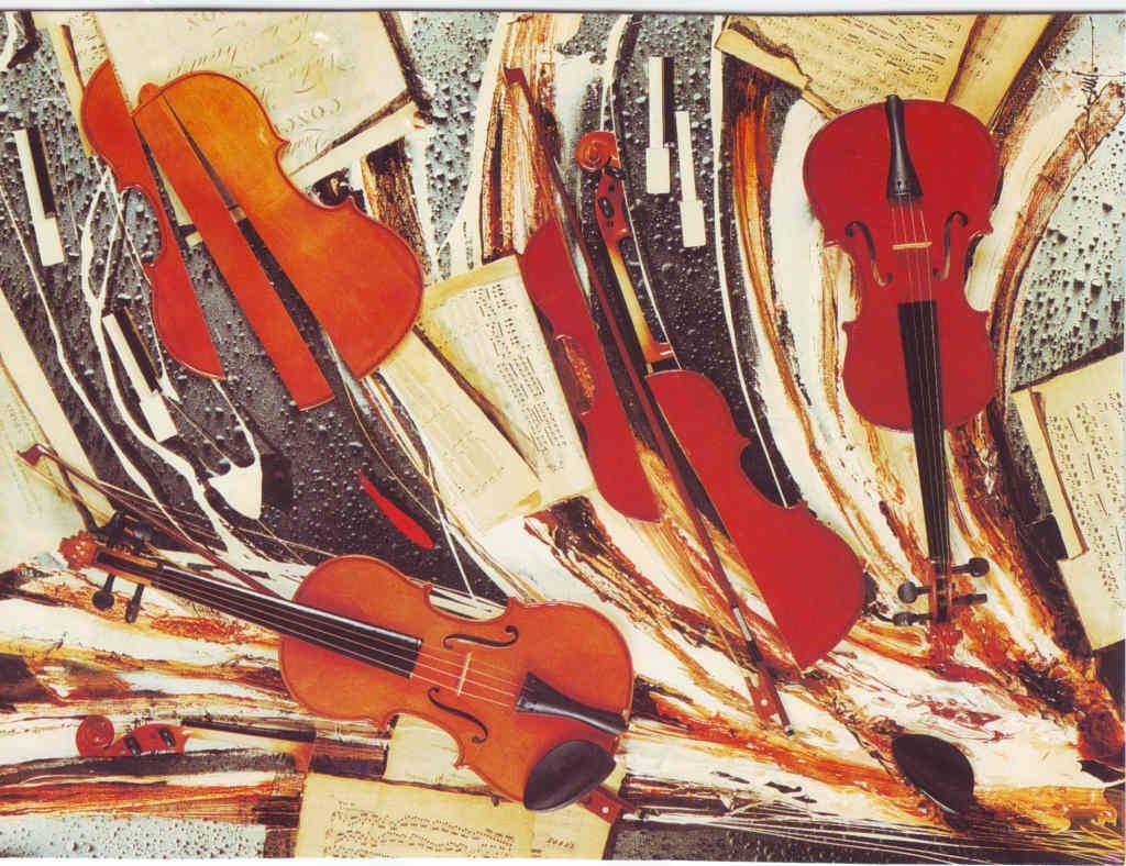 Indexation : Violons##Epoque : Moderne##Propriété : Fan-033-Roy