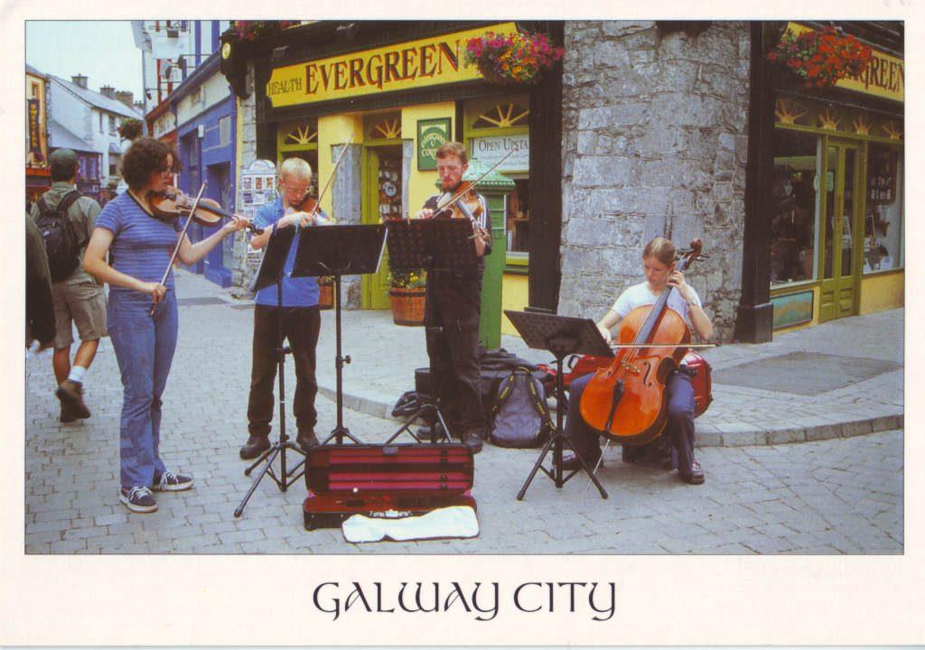 Indexation : Irlande, Gallway city##Epoque : Moderne##Propriété : Folk-051-Roy