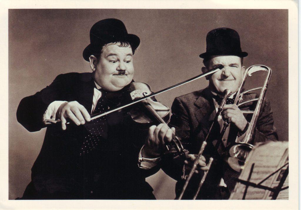 Indexation : Stan Laurel (1890-1965)##Olivier Hardy (1892-1957)##Epoque : Moderne##Propriété : Gem-026-Roy