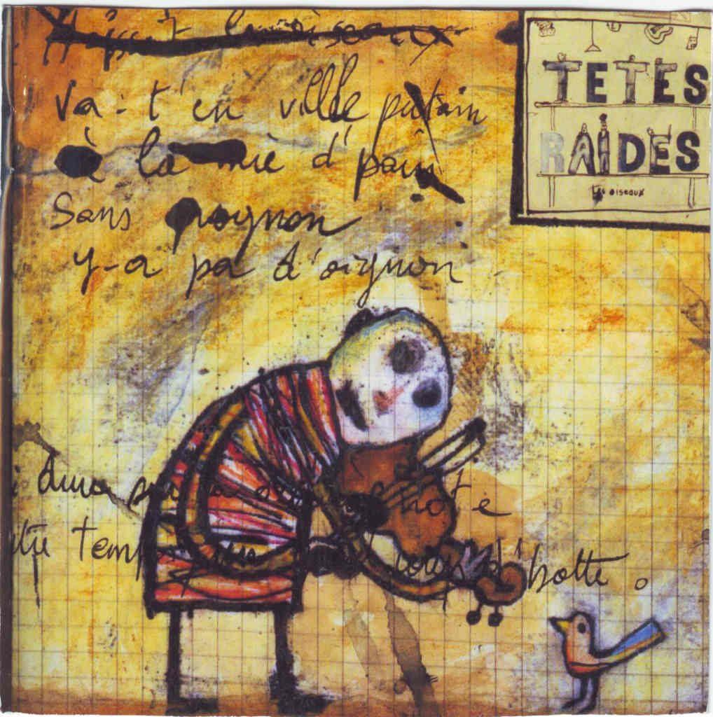 """Indexation : Groupe musical##Légende : """"Têtes Raides""""##Epoque : Moderne##Propriété : Pub-011-Roy"""