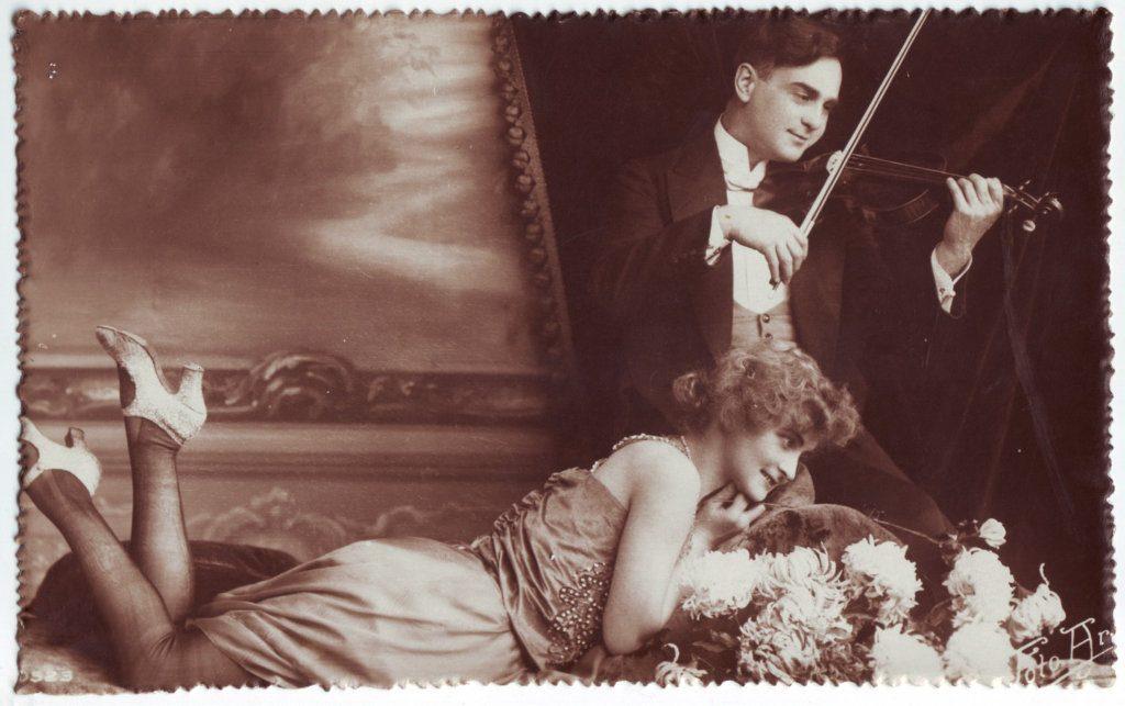 Indexation : Romance au violon##Epoque : Ancienne##Propriété : Série17,01-Roy